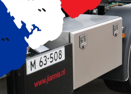 Verplichte dode hoek sticker in Frankrijk: hoe zit dat?